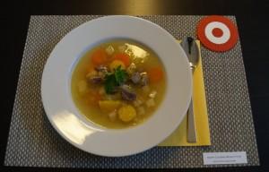 Markknochensuppe