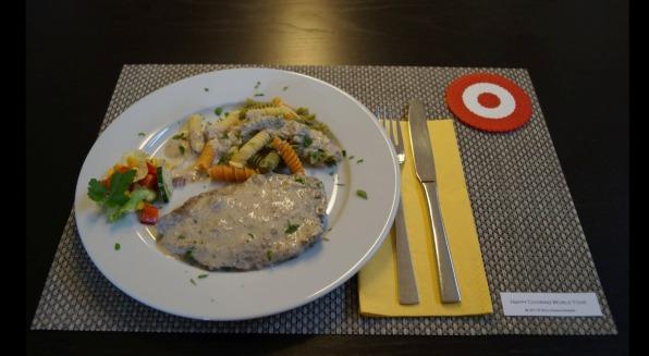 Rindschnitzel in Kapernsauce